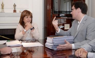 Juan Luna se reunió con Patricia Bullrich