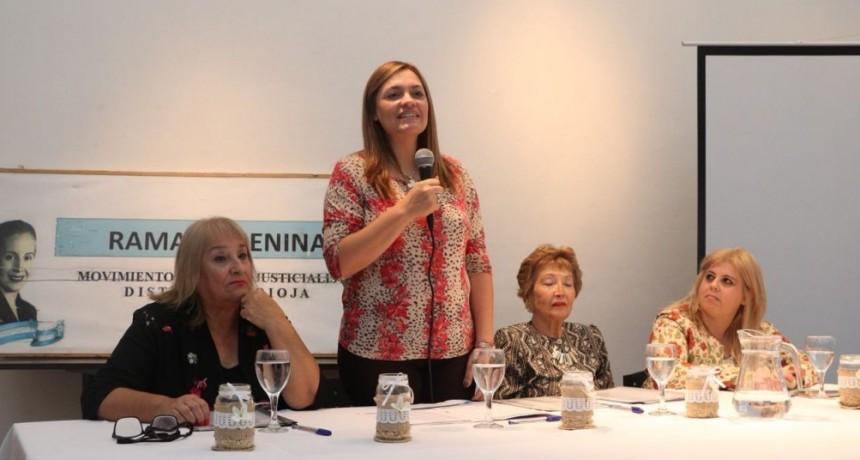 """Teresita Madera lanzó el """"Consejo de apoyo para la formación política y social de Mujeres"""""""