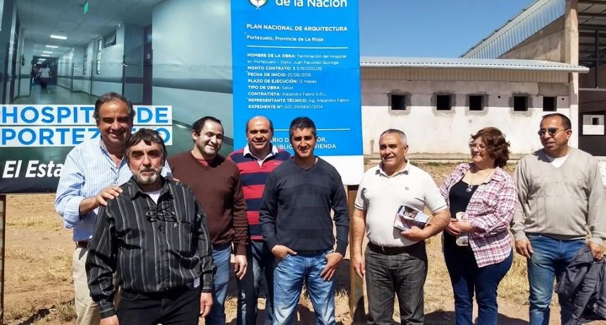 Nación se comprometió a finalizar el hospital de Portezuelo