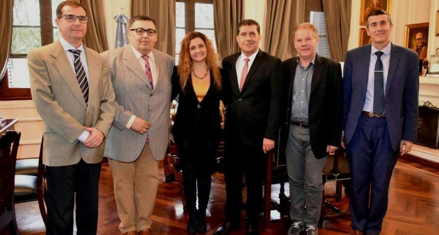 Casas recibió a diputados del interbloque Cambiemos - Encuentro por La Rioja