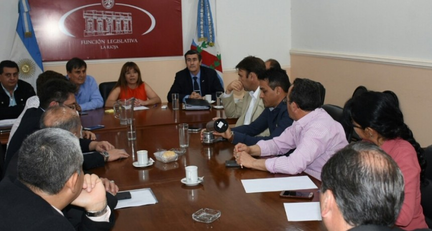 Moriconi se reunió con legisladores justicialistas