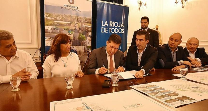 Mesa de gestión para ejecutar obras del ProMeBa en Chilecito