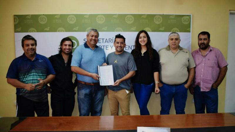 El CPDLR firmó convenio marco con la Secretaria de Deporte