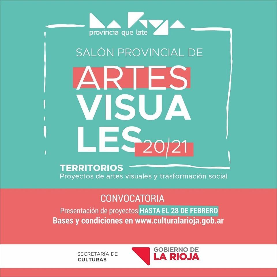 """Culturas extiende la convocatoria para el """"Salón Provincial De Artes Visuales La Rioja 2020 – Territorios"""""""