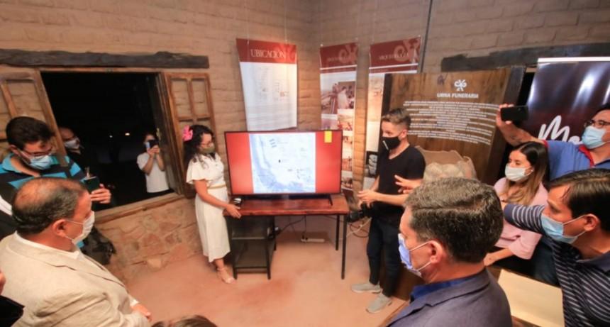 El Gobierno provincial pone en valor el sitio arqueológico Hualco, en San Blas de los Sauces