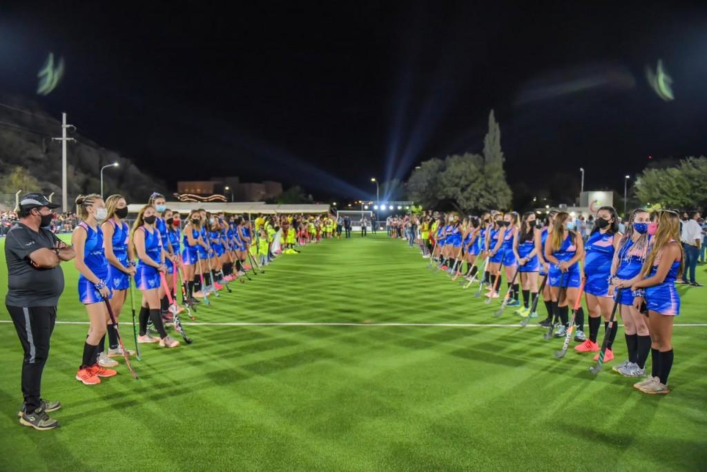 El gobierno provincial dejó inaugurado un espacio de contención deportiva para las y los chileciteños
