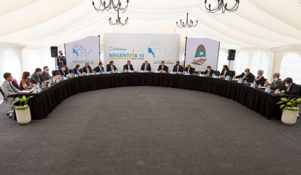 Quintela participó de la Reunión del Consejo Regional del Norte Grande