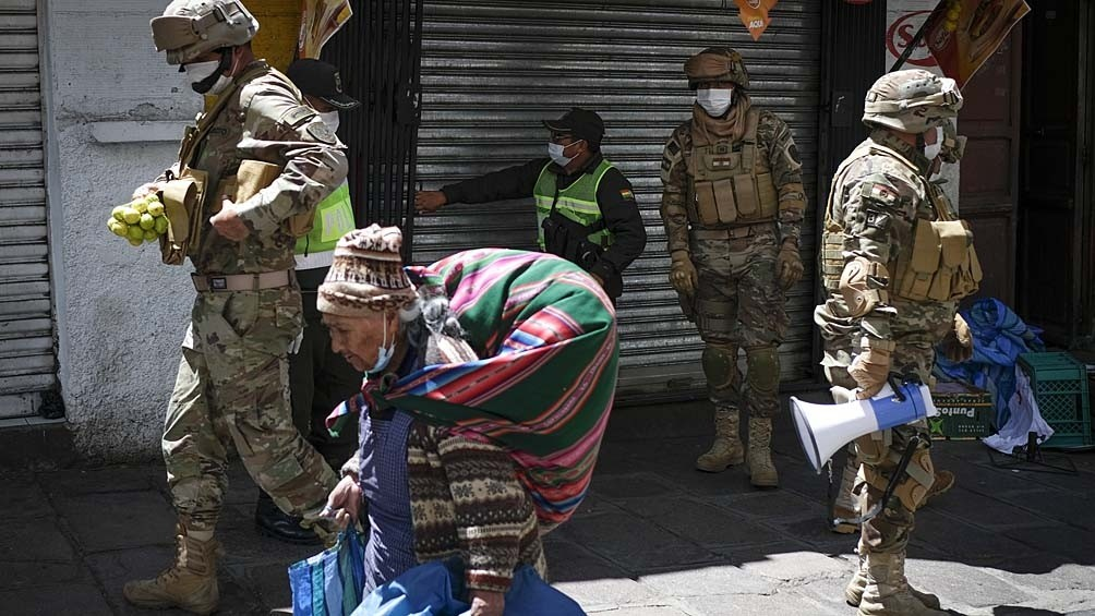 Coronavirus: Bolivia cerró las fronteras con Brasil