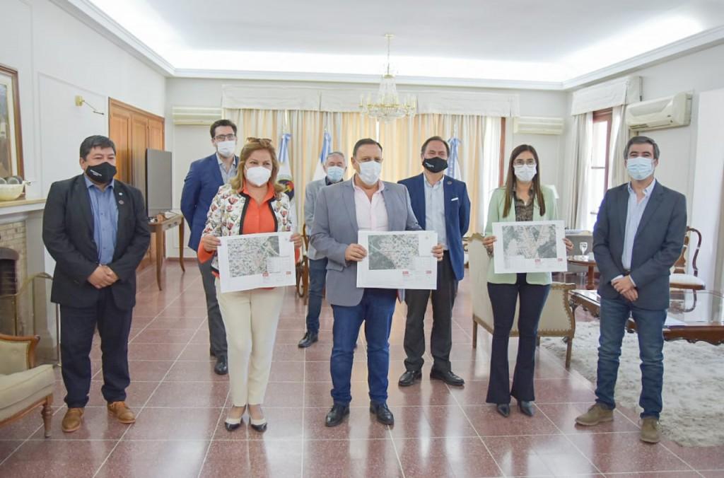 Dpto Chamical: Quintela anunció la realización de obras de asfaltado