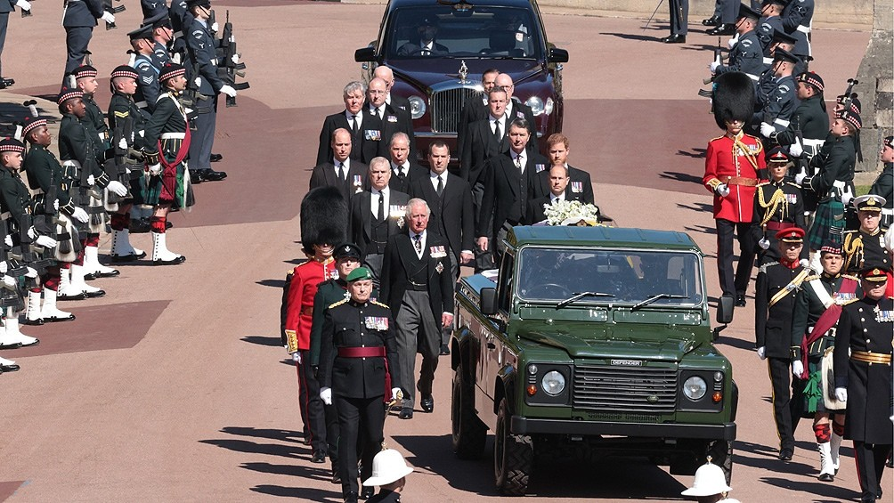 Despidieron al príncipe Felipe, esposo de la reina Isabel II
