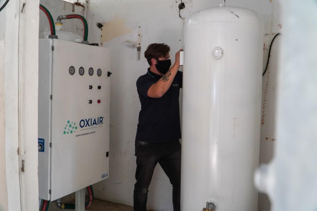 Habilitaron nueva central de oxigeno en el Hospital de Chilecito