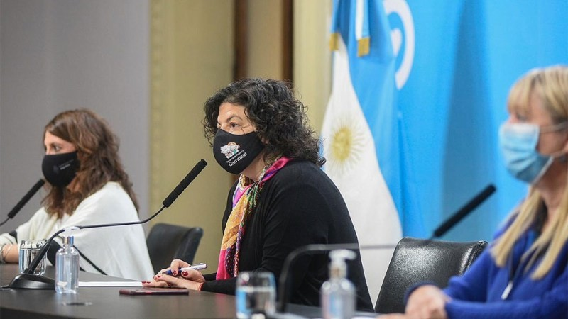 Vizzotti anunció que el próximo 21 llegarían al país unas 861.000 vacunas Astrazeneca