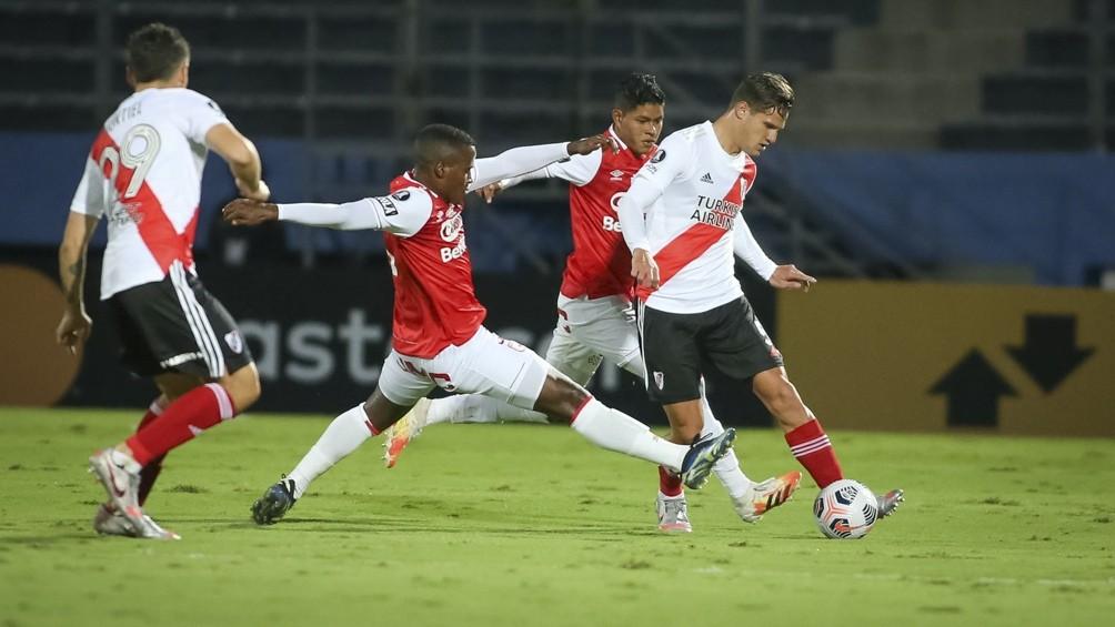 Copa Libertadores: River empató con Independiente Santa Fe de Colombia en Paraguay