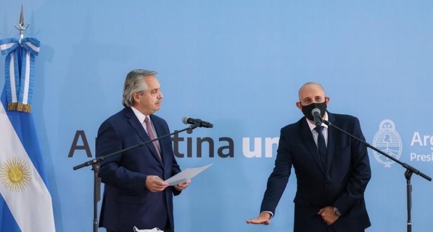 Alexis Guerrera juró como ministro de Transporte en reemplazo del fallecido Mario Meoni