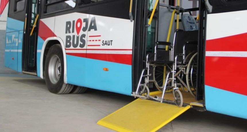 Rioja Bus se capacita para brindar una buena atención a personas con discapacidad
