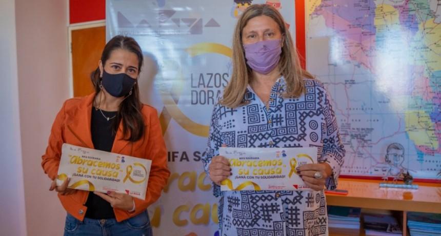 Lanzan rifa solidaria para ayudar a familias de niños con cáncer