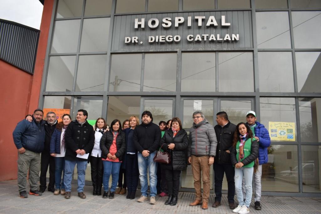 Díaz Bazán anunció políticas sanitarias para el Departamento San Martín