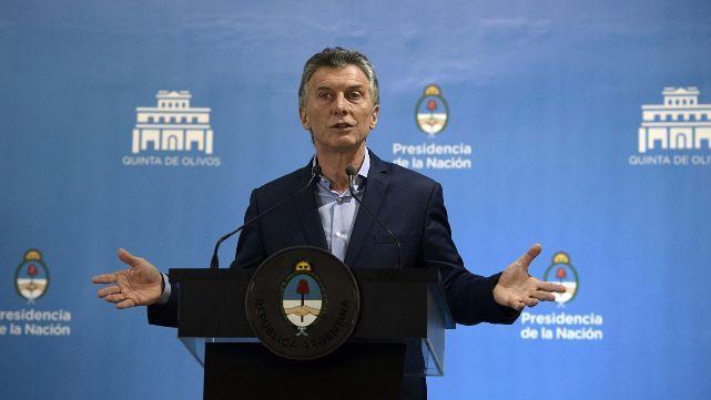 Expectativa por la conferencia de prensa del presidente Macri