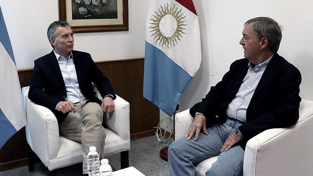 Macri visita Santa Fe y Córdoba, y cenará con el gobernador Schiaretti