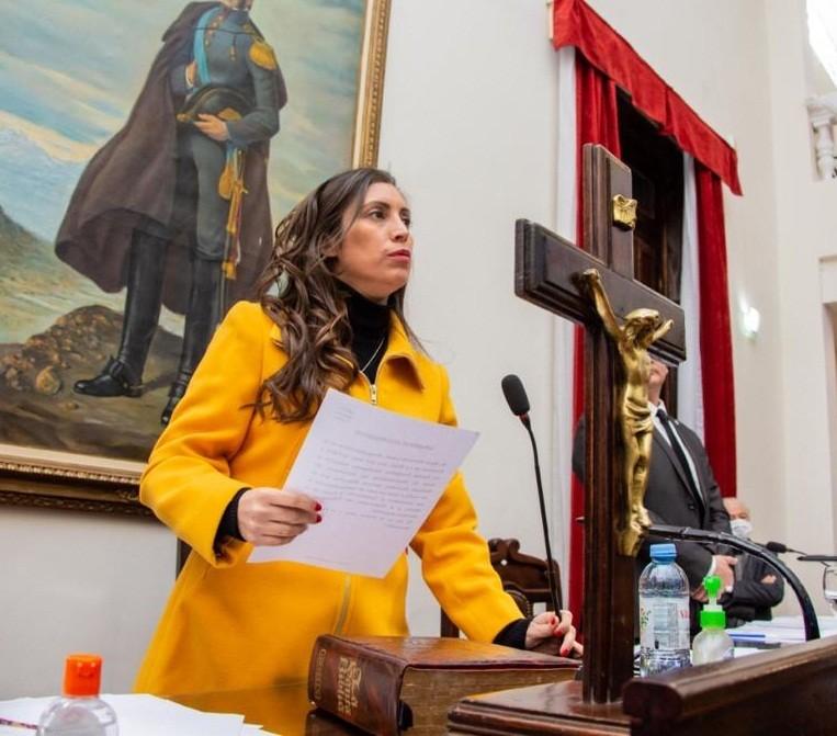 Florencia López asumió como vicepresidenta del ParlaNOA