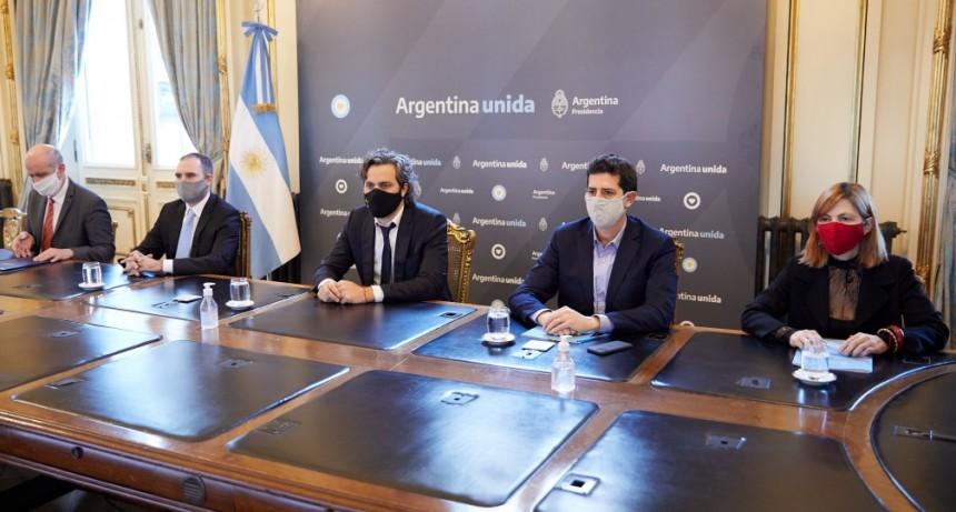 Nación firmó asistencia financiera con Jujuy, La Rioja, Tierra del Fuego y Salta
