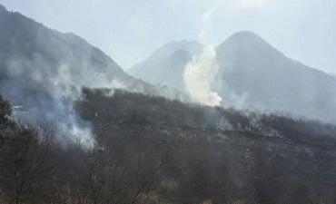 Incendio consumió 5 hectáreas en cercanías al Morro