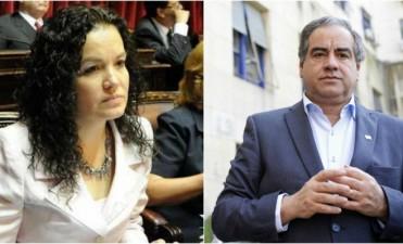 Tere Luna y Julio Martínez salieron en apoyo a Paredes Urquiza