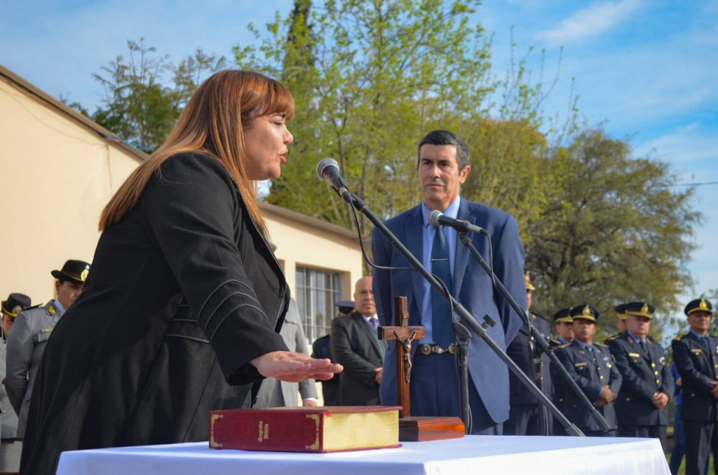 Moriconi tomó juramento a las nuevas autoridades del SPP