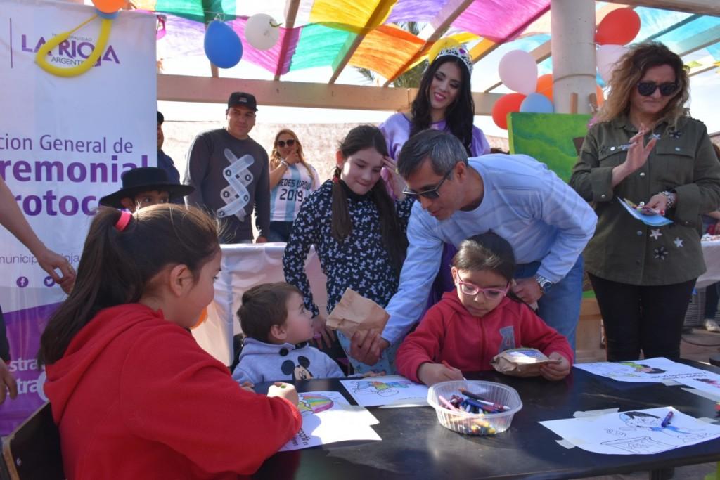 El municipio festejó el Día del Niño en el Parque Lineal Yacampis