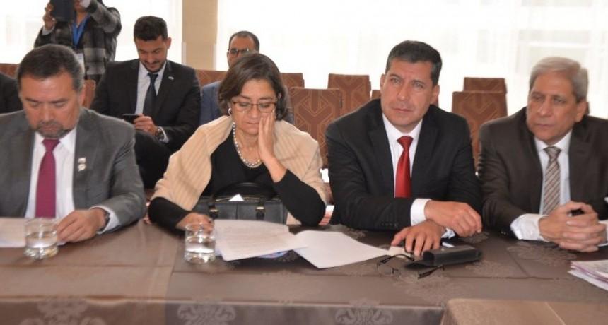 El gobierno riojano apuesta al Corredor Bioceánico y Pircas Negras en el Comité Binacional Argentino - Chileno