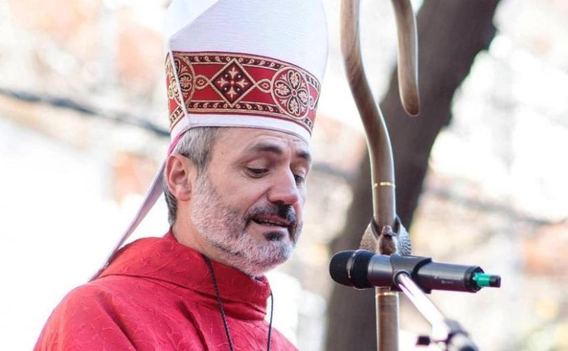 El obispo Braida dió negativo para COVID-19
