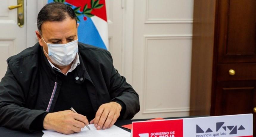 Urgente: Conferencia del gobernador Quintela