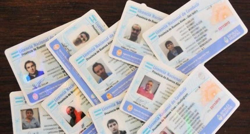 Prorrogan vencimiento de licencias de conducir