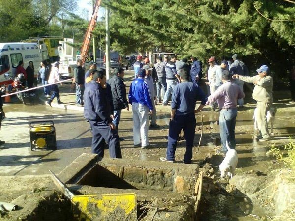 Fatal: Empleado de IPALaR muere al caer a un canal de riego en Sanagasta
