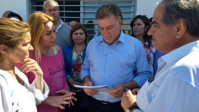 Visita de Amaya: Cambiemos resaltó la inversión de la Nación en la Provincia