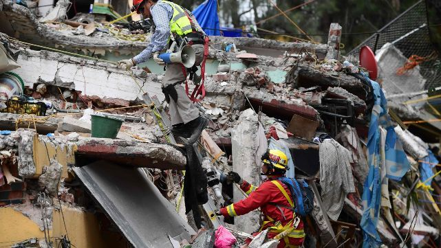 Nuevo terremoto en México sumó 2 muertos