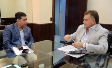 Visita de Amaya: La Provincia le reclamó mas inversión en viviendas