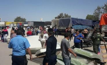 Titular del Centro de Referencia denunció que intentaron saquear camiones de Desarrollo Social de la Nación