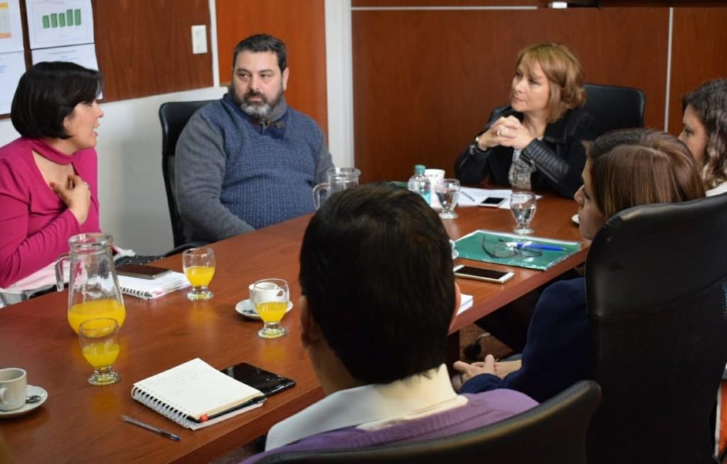 Díaz Bazán destacó la tarea de las oficinas de salud y acceso a la justicia de la Provincia
