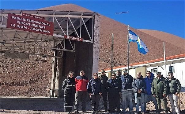 La provincia habilitó el paso desde Barrancas Blancas hasta el limite de Pircas Negras