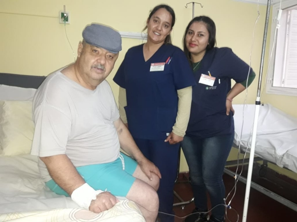 Hospital Vera Barros: Operaron a un hombre con tumor cerebral