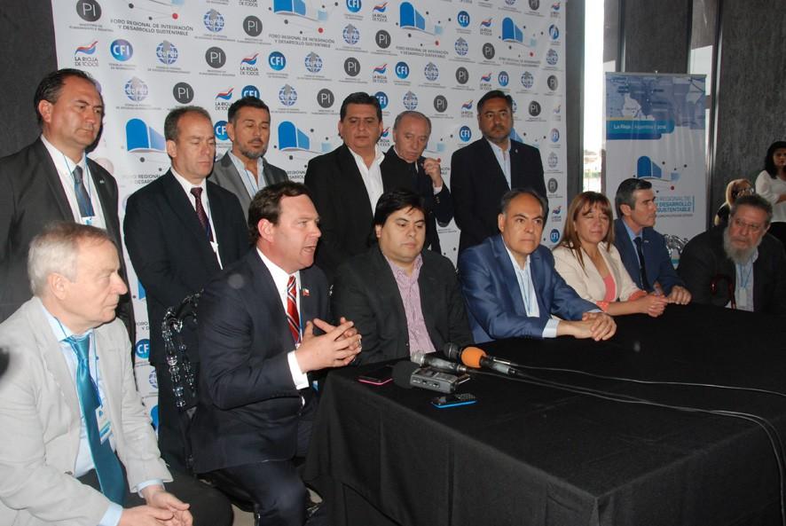 Foro Regional de Integracion y Desarrollo Sustentable: Fuerte apoyo al Corredor Bioceánico