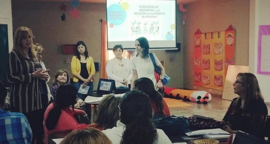 Nación destacó los buenos resultados de los Ateneos docentes en La Rioja