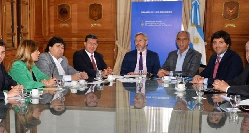 El gobernador Casas se reunió con Frigerio por el Presupuesto 2019
