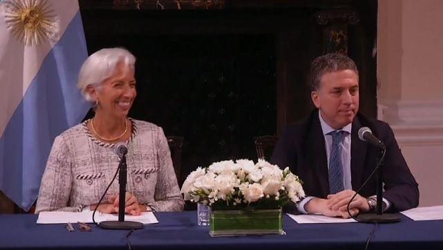 Incrementaron el acuerdo con el FMI a U$S 57 mil millones