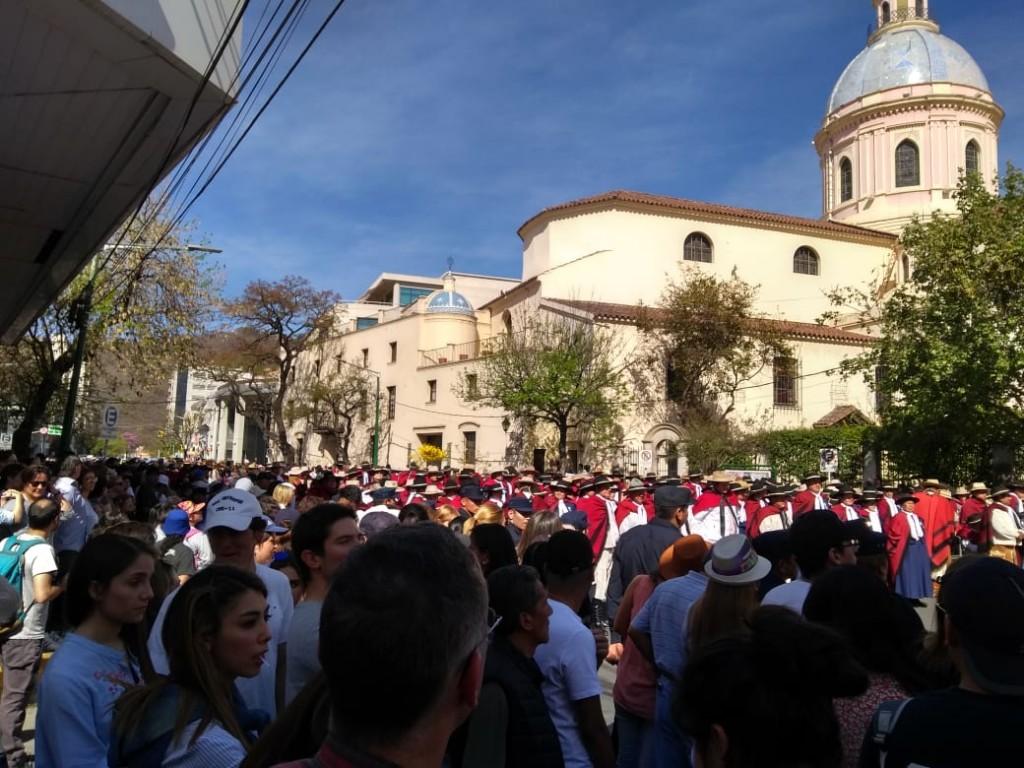 Salta: la Virgen y Señor del Milagro convocaron a más de 850 mil feligreses