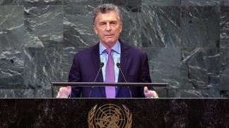 Macri viaja a Nueva York para asistir a la Asamblea General de la ONU