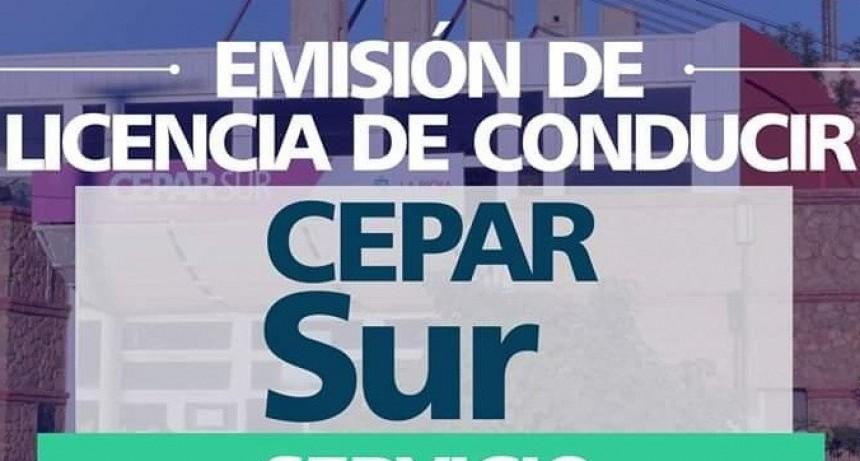 Se restableció la emisión de licencias de conducir en el CePaR sur