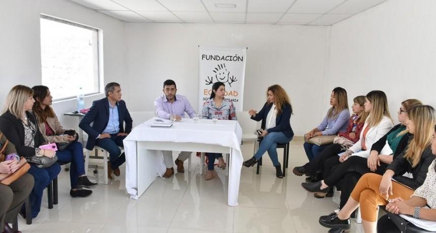 Municipio articula proyecto para asesoramiento medico - social a niños y jóvenes de la capital