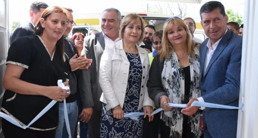 Casas inauguró nueva base de emergencia 107 en la zona este de la capital